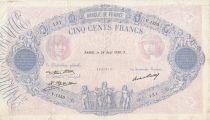 France 500 Francs - 28-08-1930 - Serial V.1353 - F to VF