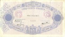 France 500 Francs Blue and pink - 16/06/1938 Série B2973
