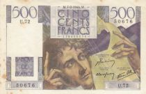 France 500 Francs Chateaubriand - 07-02-1946 Serial U.72 - VF - P.129
