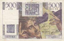 France 500 Francs Chateaubriand - 07-02-1946 Série J.72