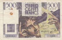 France 500 Francs Chateaubriand - 07-02-1946 Série T.64 - P.TTB