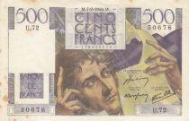 France 500 Francs Chateaubriand - 07-02-1946 Série U.72 - TTB