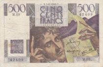 France 500 Francs Chateaubriand - 07-11-1945 Serial M.59 - VF