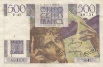 France 500 Francs Chateaubriand - 07-11-1945 Série H.42 - TTB