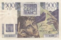 France 500 Francs Chateaubriand - 19-07-1945 - Série P.23