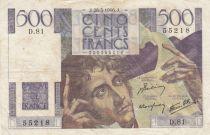 France 500 Francs Chateaubriand - 28-03-1946 Série D.81