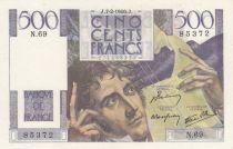 France 500 Francs Chateaubriand 07-02-1946 - Série N.69 - SPL
