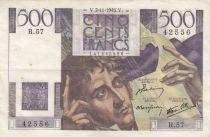 France 500 Francs Chateaubriand 07-11-1945 - Série R.57 - TTB+