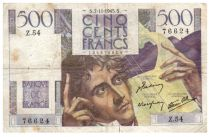 France 500 Francs Chateaubriand 07-11-1945- Serial Z.54 - F+