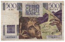 France 500 Francs Chateaubriand 07-11-1945- Série H.41 - TB