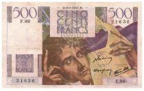 France 500 Francs Chateaubriand 09-01-1947- Série F.98 - TTB