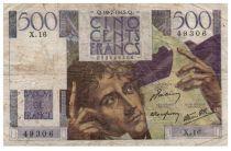 France 500 Francs Chateaubriand 19-07-1945- Série X.16 - TB