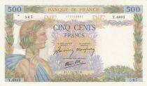 France 500 Francs La Paix - 01-10-1941 - Série Y.6803