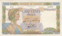 France 500 Francs La Paix - 01-10-1942 Série K.6978