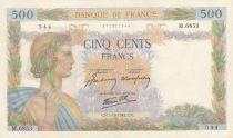 France 500 Francs La Paix - 01-10-1942 Série M.6853