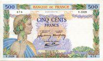 France 500 Francs La Paix - 06-02-1941 - Série V.2329 - TTB