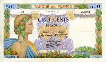 France 500 Francs La Paix - 06-02-1941 - Série W.2361 - TTB
