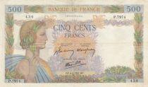 France 500 Francs La Paix - 06-04-1944 - Série P.7974 date rare