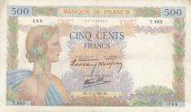 France 500 Francs La Paix - 11-07-1940 Série T.683