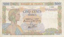 France 500 Francs La Paix - 16-05-1940 Série T.250 - TB+