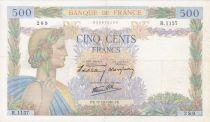 France 500 Francs La Paix - 17-10-1940 Série R.1157