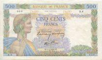 France 500 Francs La Paix - 1940