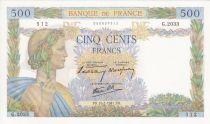 France 500 Francs La Paix - 1941