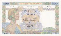 France 500 Francs La Paix - 25-07-1940 Série A.832