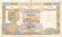 France 500 Francs La Paix - 28-11-1940 Série S.1413 - TB