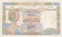 France 500 Francs La Paix - 31-10-1940 - Série D.1244