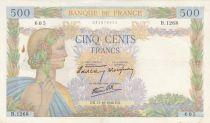 France 500 Francs La Paix - 31-10-1940 Série B.1268 - TTB