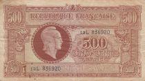 France 500 Francs Marian - 1945 - Serial 13 L