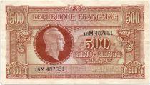 France 500 Francs Marian - 1945 Serial M - Serial 18 M