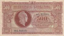 France 500 Francs Marianne - 04-06-1945 Lettre L - Série 31 L