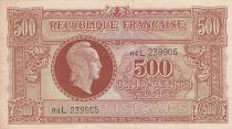 France 500 Francs Marianne - 04-06-1945 Lettre L - Série 64 L 239905