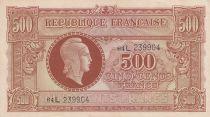France 500 Francs Marianne - 04-06-1945 Lettre L - Série 64 L