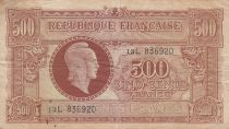 France 500 Francs Marianne - 1945 - Série  13 L