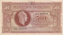 France 500 Francs Marianne - 1945 - Série 21 L