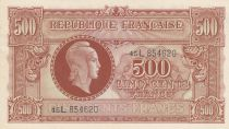 France 500 Francs Marianne - 1945 Lettre L - Série 45L