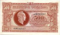 France 500 Francs Marianne - 1945 Lettre M - Série 07 M