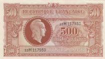 France 500 Francs Marianne - 1945 Lettre M - Série 12M