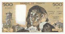 France 500 Francs Pascal - 01-04-1976 - C.60