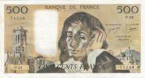 France 500 Francs Pascal - 01-04-1976 - P.58