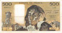 France 500 Francs Pascal - 01-04-1976 - Série L.61 - TB+