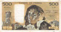 France 500 Francs Pascal - 01-04-1976 Série L.59 - TTB