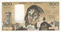 France 500 Francs Pascal - 02-01-1969 - G.9 - SUP
