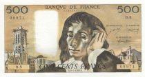 France 500 Francs Pascal - 02-01-1969 - O.8