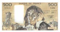 France 500 Francs Pascal - 02-01-1992 - Série Y.376 - SUP+