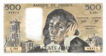 France 500 Francs Pascal - 02-06-1983 - Série A.194 - SUP