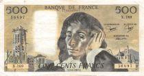 France 500 Francs Pascal - 02-06-1983 Série X.189 - TTB